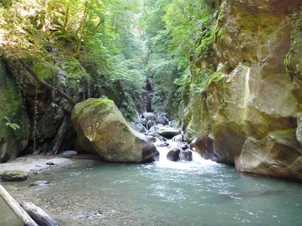 torrente madrasco berbenno fallocefali canyoning